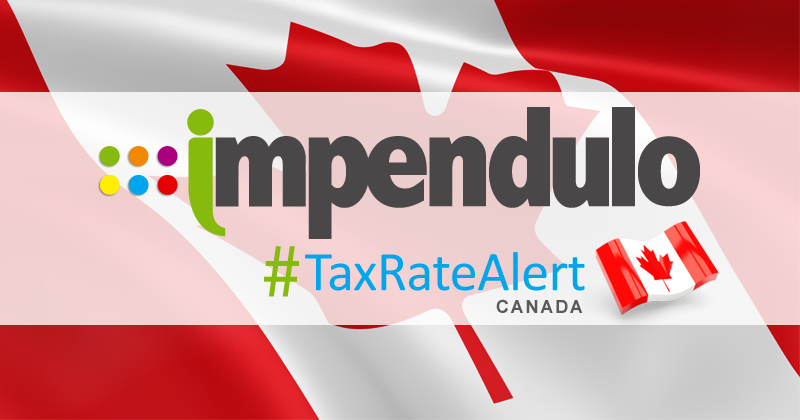 Tax Alert – Canada – Newfoundland & Labrador Rate Increases