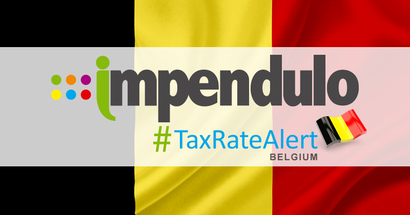 Insurance Premium Tax Alert – Belgium – Monthly IPT Return Deadline Brought Forward