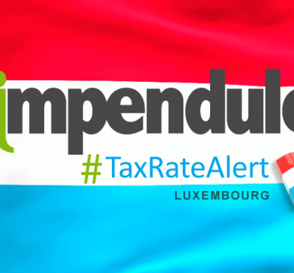 Tax Alert – Luxembourg – New Contribution to the Emergency Services