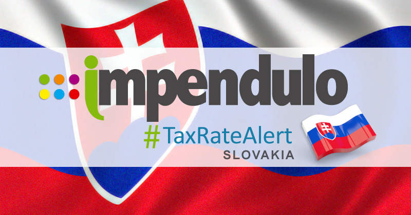 Tax Alert – Slovakia – Introduction of Insurance Premium Tax Looks Likely