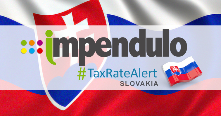 Tax Alert – Slovakia – Confirmed Changes to IPT from 1st Jan 2019