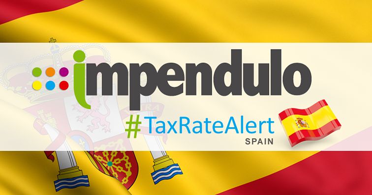 Tax Alert – Spain – New 8.00% Tax for Environmental Policies