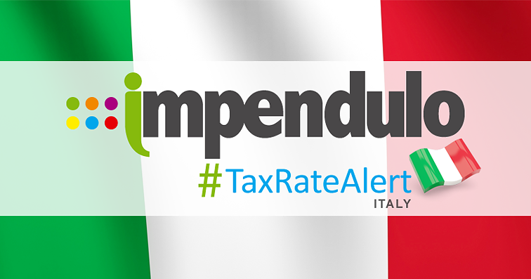 Tax Alert – Italy – Changes to Prepayment